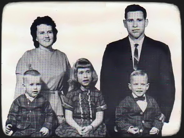 Donald Cox and his family