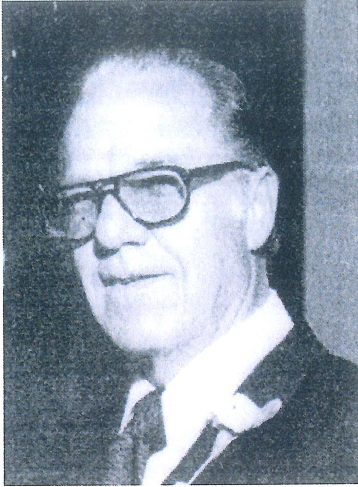 Pastor Donald Skaggs