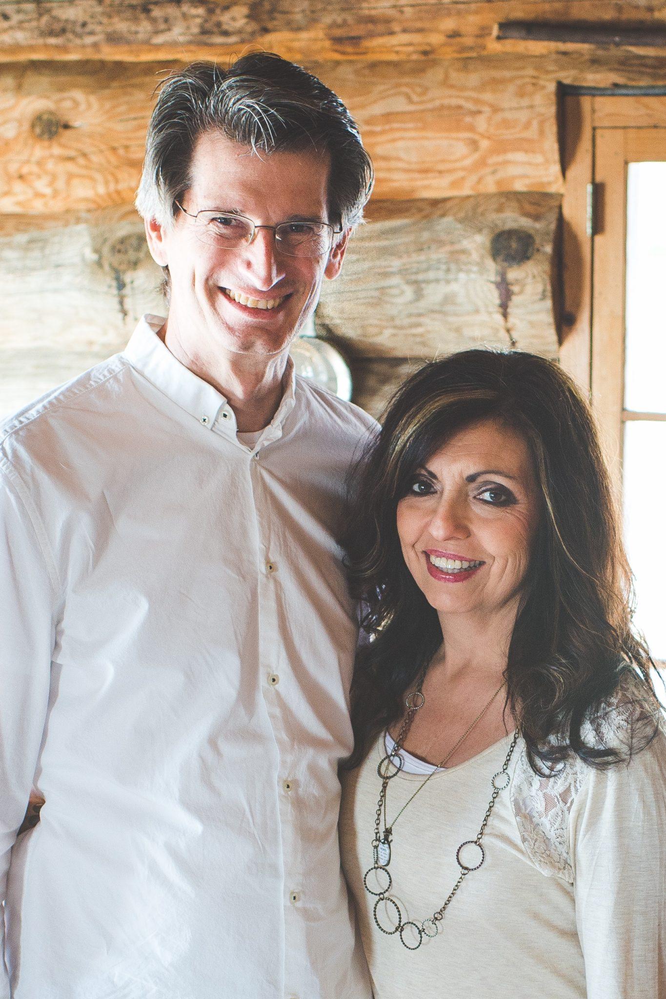 Pastor Kim Buckman and his wife